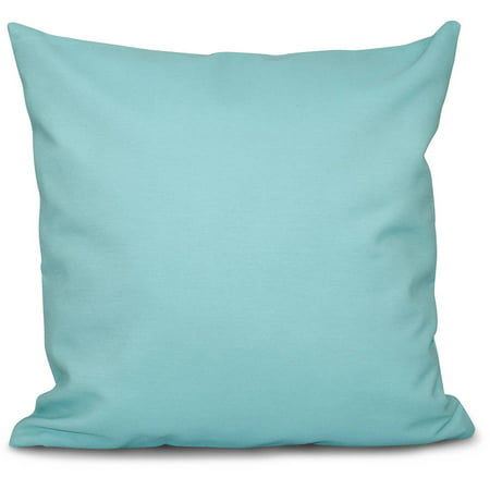 "Simply Daisy 16"" x 16"" Solid Decorative Outdoor Pillow"