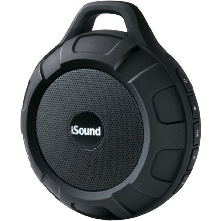 I.sound Isound-6704 Duratunes Water-resistant Bluetooth Speaker (black) (I Twist Bluetooth Speaker)