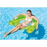 Intex Inflatable Sit n' Float Pool Lounge (Green or Teal Blue)