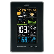 La Crosse Technology 308-1425B-INT Vertical Wireless Color Weather Station with Pressure