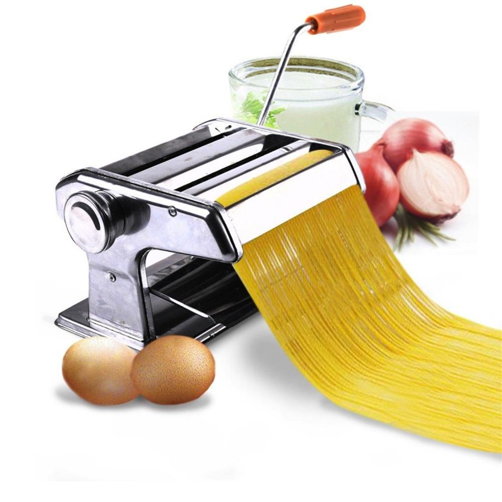 "150mm 6"" Pasta Maker & Roller Machine Noodle Spaghetti Fettuccine Maker FOR Household use by"