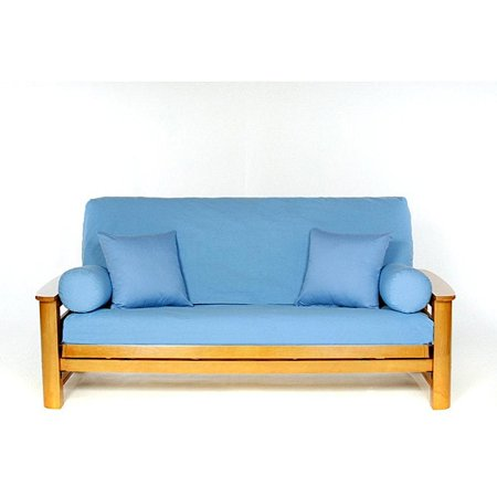 Lifestyle Covers  Bluebonnet Full-size Futon Cover Cotton Futon Cover