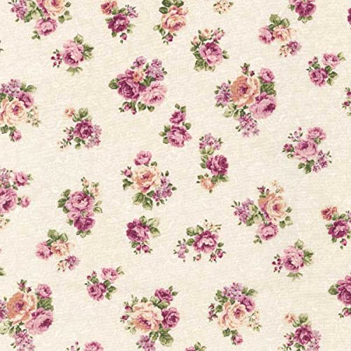 Emma 2- Rose Buds/Ivory by Robert Kaufman - Cotton Fabric