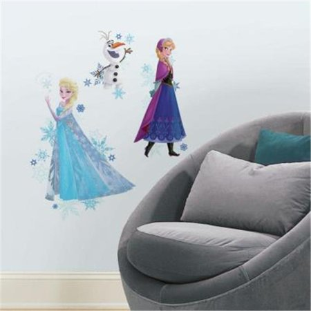 Frozen Anna, Elsa, And Olaf Peel And Stick Giant Wall - Olaf Stickers