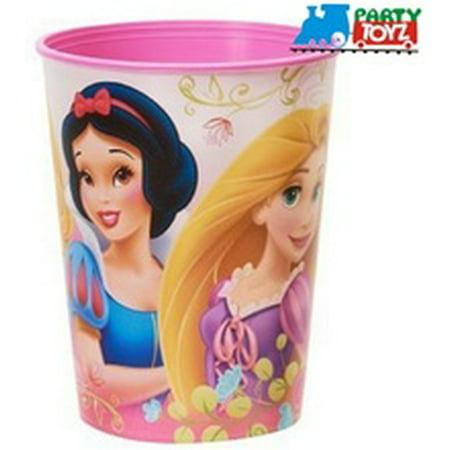 Princess Ariel Snow White Plastic 16 Ounce Reusable Keepsake Favor Cup (1 Cup)](Princess Cups)