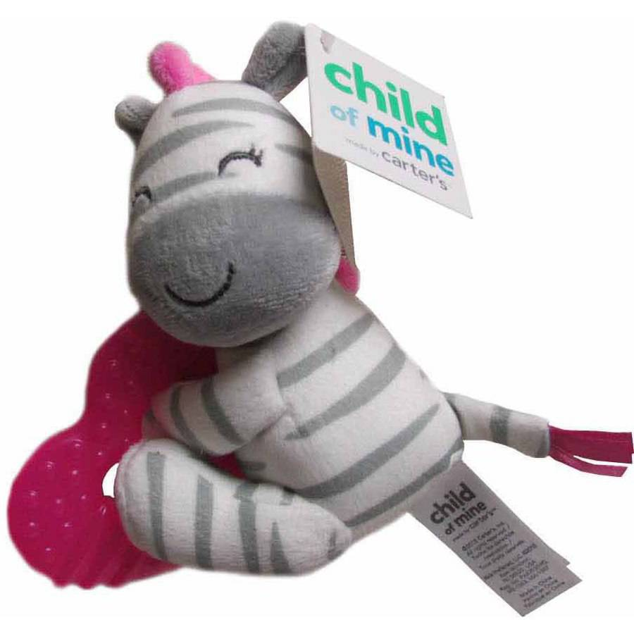 Carter's Girl Zebra Water-Filled Teether