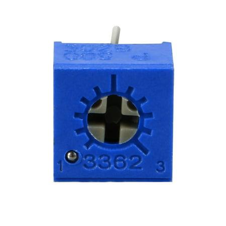 Resistors 50 Ohm Top Adjustment Horizontal Cermet Potentiometer 3 Pcs - image 4 of 6