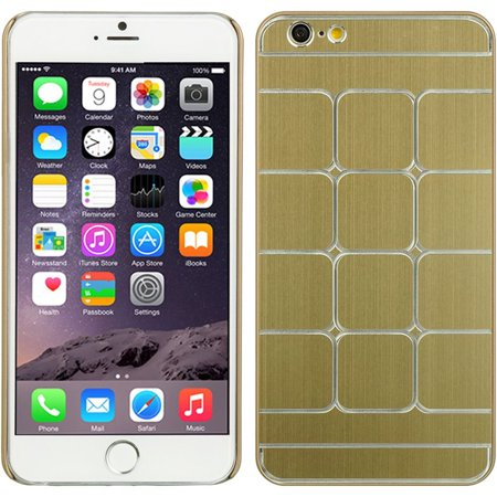 DreamWireless Squares Rubber Coated Hard Snap-in Case Cover For Apple iPhone 6 Plus/6s Plus,