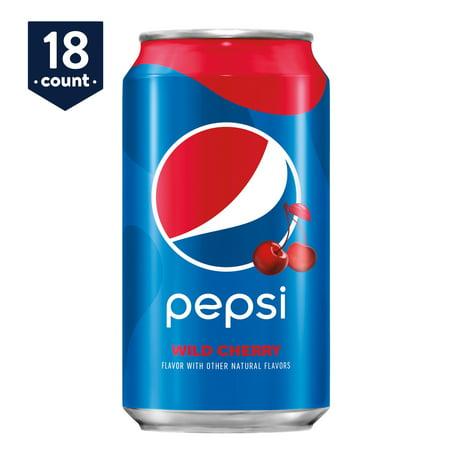 Pepsi Wild Cherry, 12 oz Cans, 18 Count](Pepsi Halloween Advertisement)
