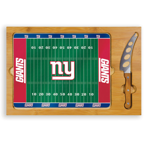 NFL Cutting Board Set by Picnic Time, Icon - New York Giants