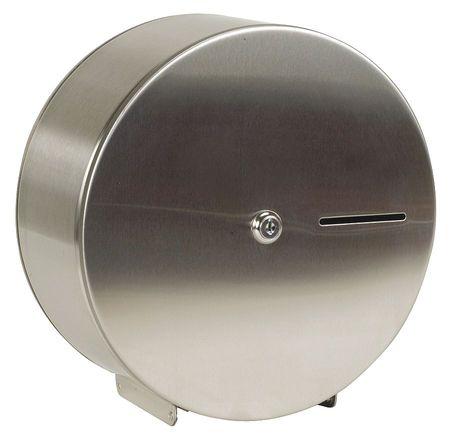Tough Guy 4YRE5 Stainless Steel Toilet Paper Dispenser