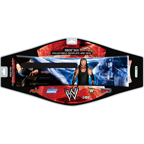 WWE Undertaker Faceplate and Skin For Xbox 360 (360)