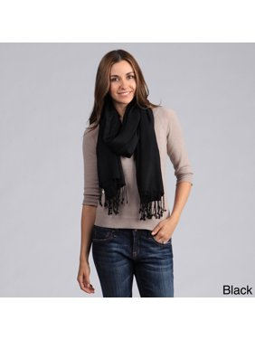 Saro Lifestyle  Women's Plain Viscose Shawl