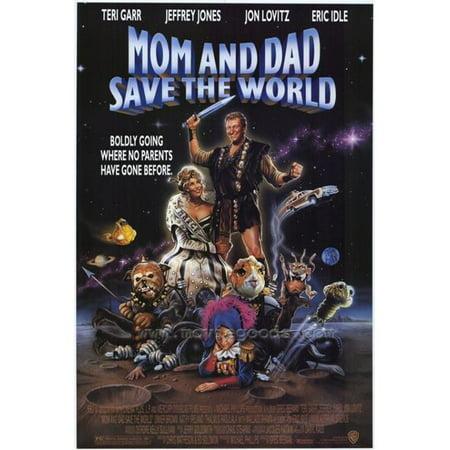 Posterazzi MOVCH5708 Mom & Dad Save the World Movie Poster - 27 x 40 (Mom And Dad Save The World Cast)