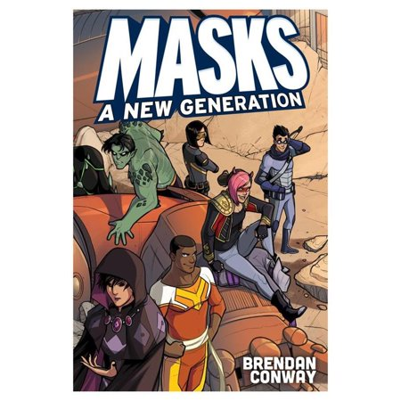 Masks: A New Generation Paperback Superhero Villians Magpie Games MAE014 - Superheros And Villians