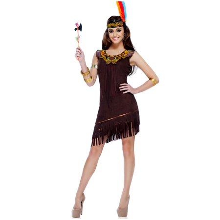native american beauty womens indian princess pocahontas halloween costume