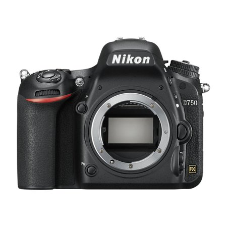 Nikon Black D750 FX-format Digital SLR Camera with 24.3 Megapixels (Body