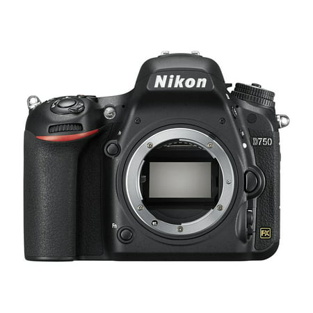 Nikon Black D750 FX-format Digital SLR Camera with 24.3 Megapixels (Body -
