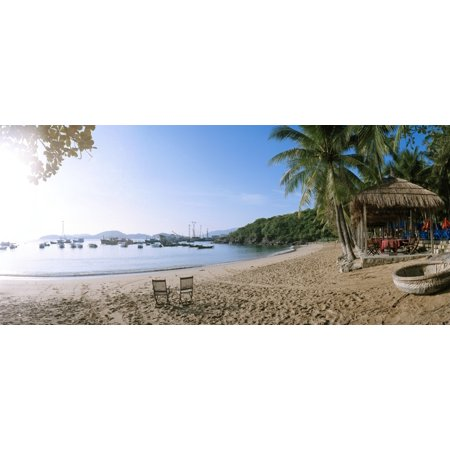 Scenic View Of Beach At Bao Dai Villa Nha Trang Khanh Hoa Province Vietnam Poster Print