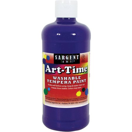 Brush Tempera Paint Tube - Sargent Art Violet Tempera Paint, 16 Fl. Oz.