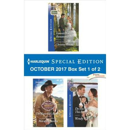 Harlequin Special Edition October 2017 Box Set 1 of 2 - eBook