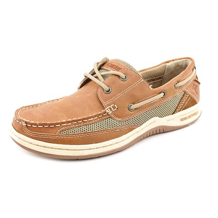 f42307502ef Margaritaville - Margaritaville Upgrade Men Moc Toe Leather Boat Shoe -  Walmart.com
