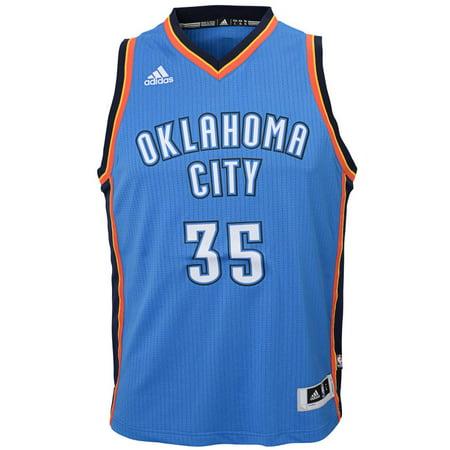 Oklahoma City Thunder Youth Road Replica Jersey (Blue) by