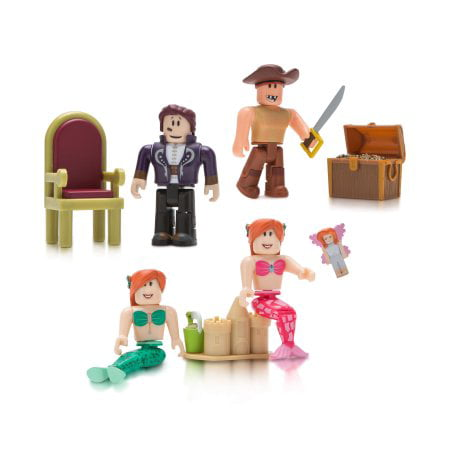 - Roblox Celebrity Neverland Lagoon Four Figure Pack
