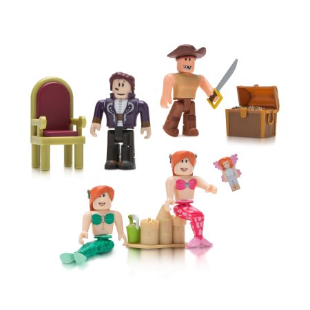 Roblox Celebrity Neverland Lagoon Four Figure Pack