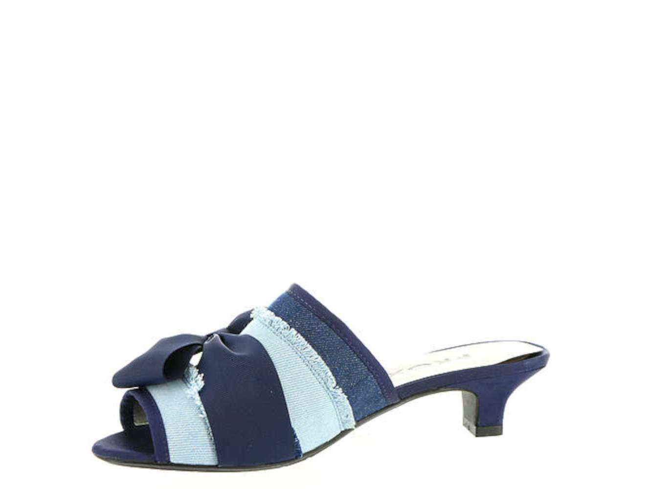 Proxy Womens tiffney Open Toe Casual Slide Sandals, Blue, Size 11.0