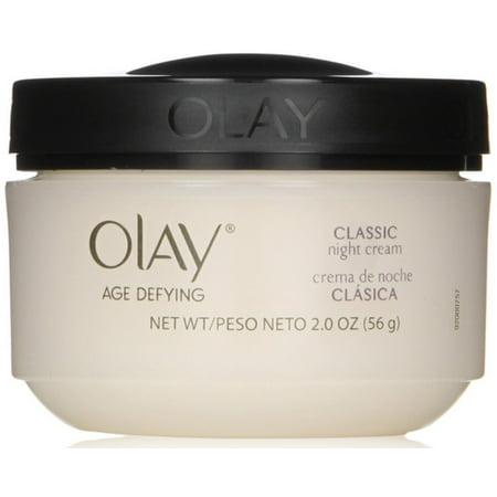 OLAY Age Defying Intensive Nourishing Classic Night Cream 2 oz (Pack of 2)