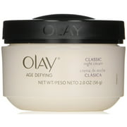 OLAY Age Defying Intensive Nourishing Classic Night Cream 2 oz (Pack of 2)
