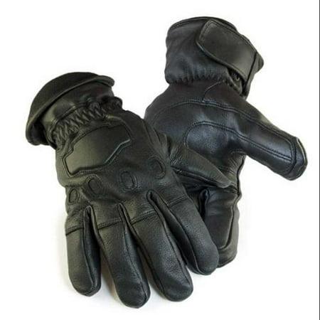 Mens Deerskin Gauntlet Cycle Glove Lined 150 gram Thinsulate, 034B](Gaunlet Gloves)