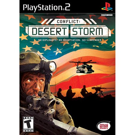 Conflict: Desert Storm (Sony PlayStation 2, 2002) ()