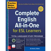 Practice Makes Perfect: Complete English All-In-One for ESL Learners (Paperback)