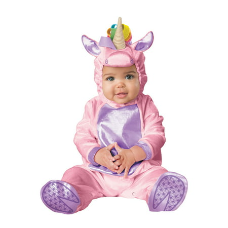Little Pink Unicorn Infant Costume - Riding Unicorn Costume