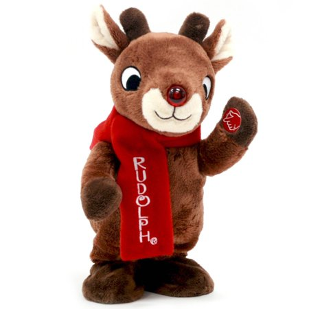 Rudolph The Red Nosed Reindeer 11 Inch Dancing Animated Rudolph