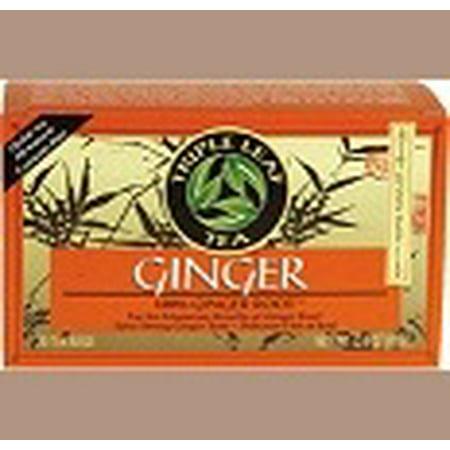 VERTUS thé au gingembre (100% racine de gingembre) Triple Leaf Tea 20 Sac