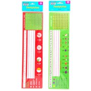 DDI 1946556 Student Math and Reading Desk Plate Tools Case of 48