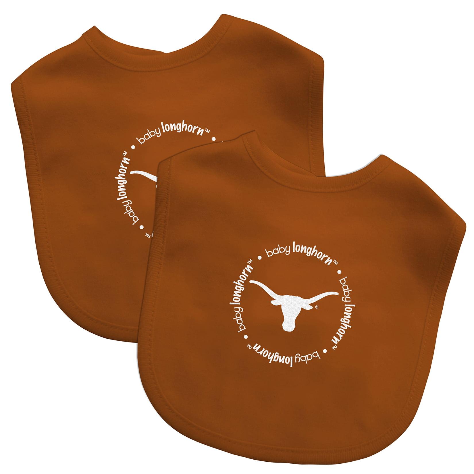 NCAA Texas 2-Pack Bibs