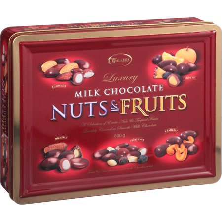 Walkers Luxury Milk Chocolate Nuts & Fruits Holiday Gift, 800 g