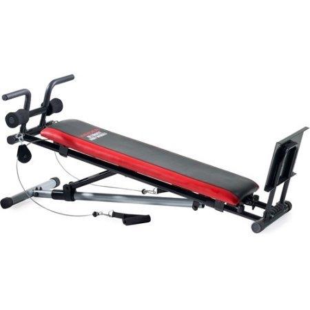 Weider Home Gym Equipment Leg Press Ultimate Body Workout...