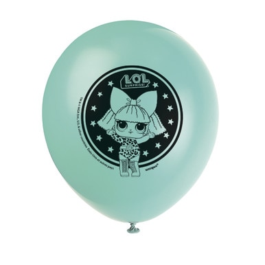 LOL Surprise! 12 inch Latex Balloons [8 Per Package]