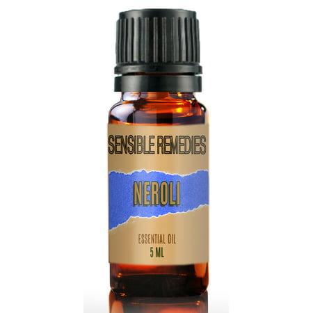 Sensible Remedies Neroli 100% Pure Therapeutic Grade Essential Oil 5 mL (0.167 fl oz)