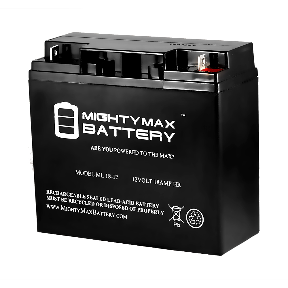 12V 18AH SLA Battery for FJC 45575 Heavy Duty Jumper Pack