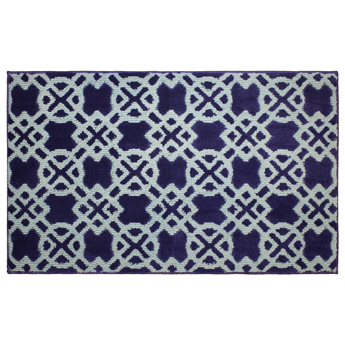 "Jean Pierre Cut and Loop Tazo 28"" x 48"" Textured Decorative Accent Rug"