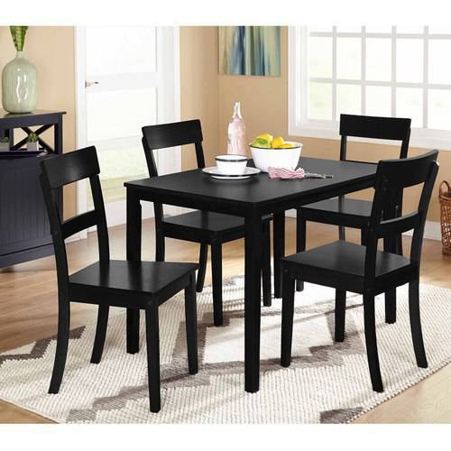 Beverly 5Piece Dining Set Multiple FinishesWalmartcom