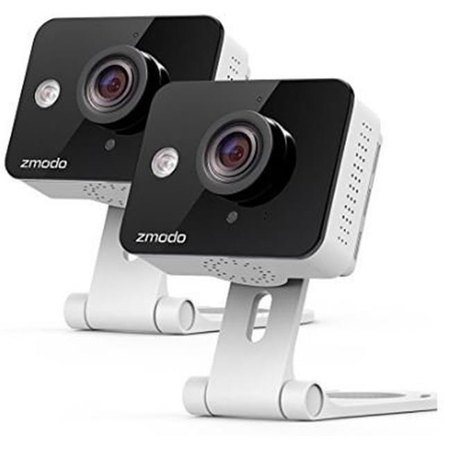 Zmodo ZM-SH75D001-WA-2 New Mini WiFi Camera - Pack of 2