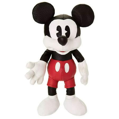 Disney Mickey the True Original Mickey Plush [Simulated Leather] Posh Plush Leather