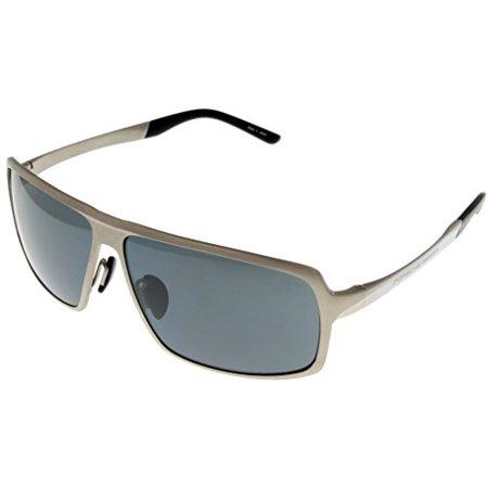 f89955114352 Porsche Design - Porsche Design Sunglasses Titanium Mens P8495 B  Rectangular Size  Lens  Bridge  Temple  64-12-135 - Walmart.com